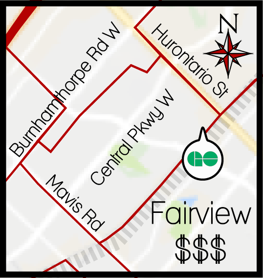 Fairview MLS map, Fairview boundary map