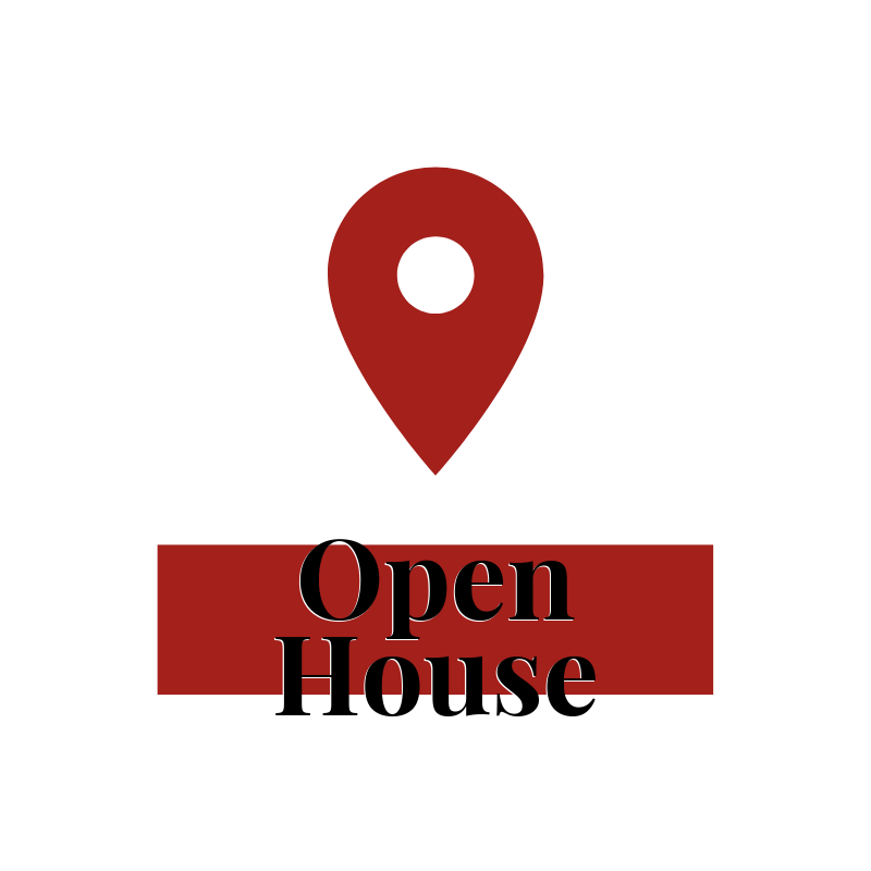 Open Houses, Open House Pin, Mississauga Real Estate