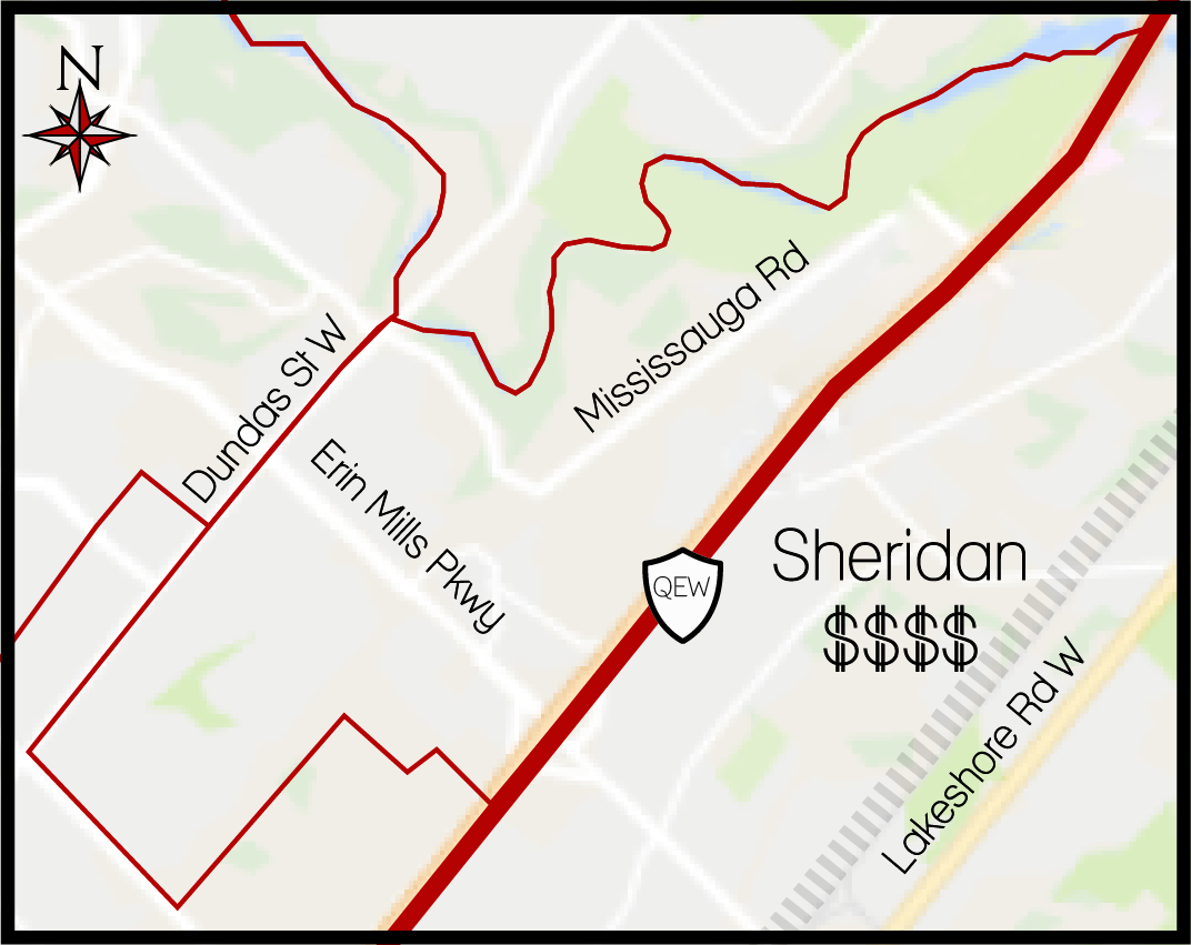 Sheridan MLS Map