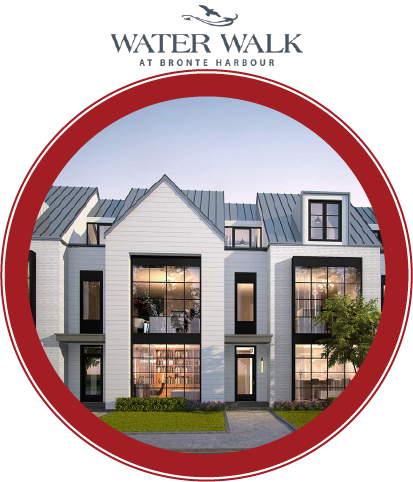 Water Walk At Bronte Harbour Development • Oakville